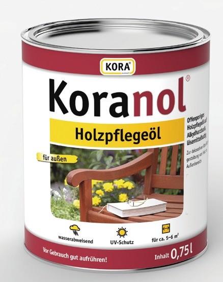 Koranol & Koralan Holzpflege