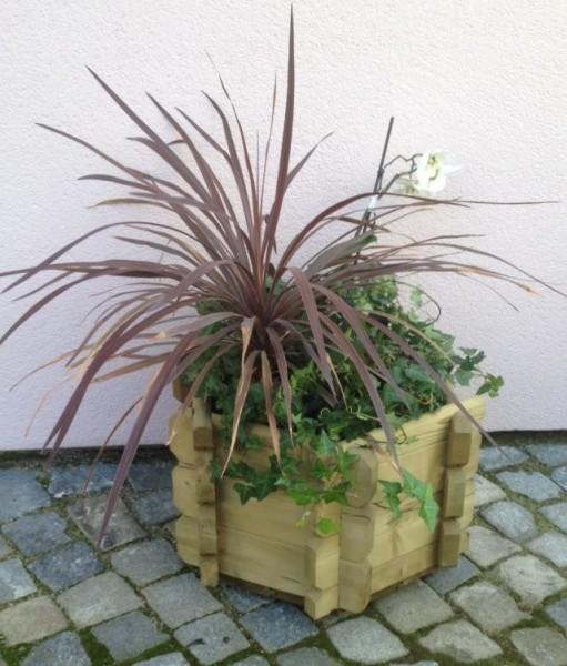 Blumenkasten Logo Sechseck 50 cm