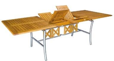 Tisch Savona III 180/250 cm Robinienholz