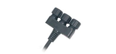 LED 3 Fachverteiler IP44