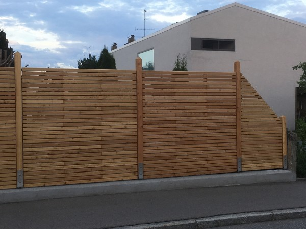 Lärche Rhombus Sichtschutz LS-180/180cm