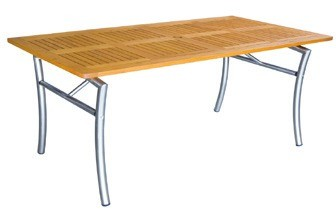 Tisch Savona II 160x85cm Robinienholz