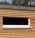 KUBUS Gartenhaus Fenster 125/40 cm