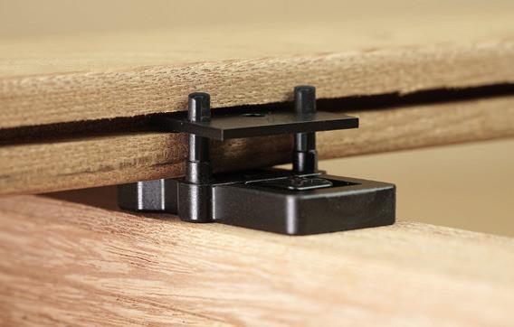 Terrassenverb. Ligo 6 mm Fuge, 80 Stück