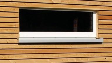 KUBUS Gartenhaus Fenster 120/40 cm