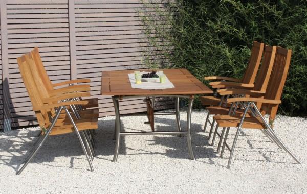 Ferrara Gartenmöbel Set Robinienholz Gartenmöbel Sets