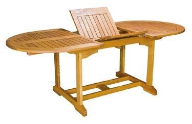 Tisch Torino II 180/240 cm Robinienholz