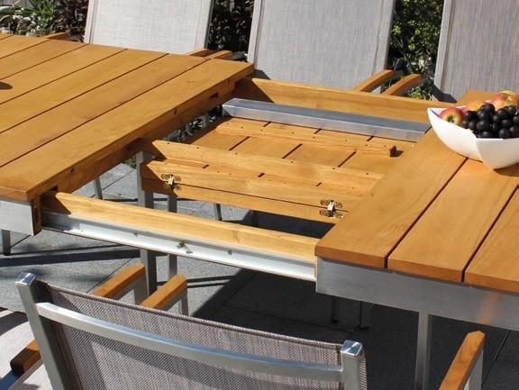 Tisch Venezia IV 200/250cm Robinienholz
