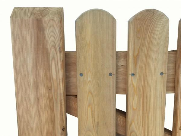 Gartentor aus Lärchenholz