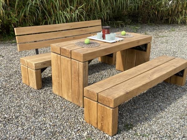 Tantum Sitzgruppe Tisch 1,70 x 0,62 m