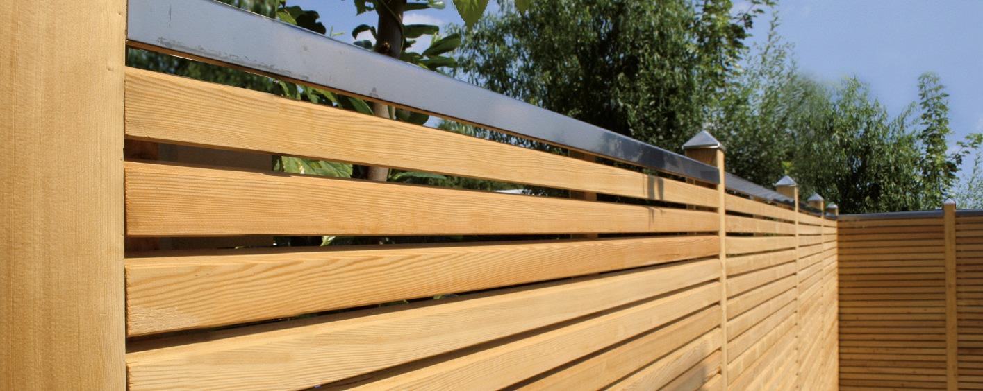 Sichtschutz Kubler Holz