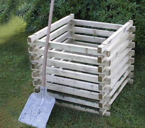 Kompostsilo Typ 2 100*100 Rahmen 45/65mm