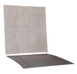 Textilen Braun für Salerno Stapelbar
